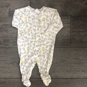 Hanna Andersson Pima  infant's footed pijamas.